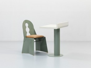 Alessandro Mendini, Miraggio chair and Rif desk, Tribu Design editions