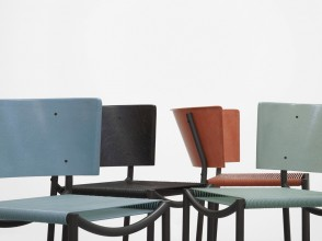 Philippe Starck, Stackable Lila Hunter chairs , ed. XO