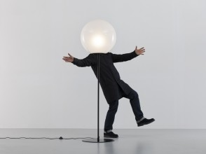 Elio Martinelli, Sfera floor lamp, Martinelli Luce editions