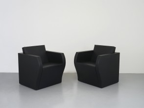 Jean Nouvel, Simple Bridge armchairs and sofa, Ligne Roset edition