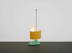 1950s Italian lamp, anonymous