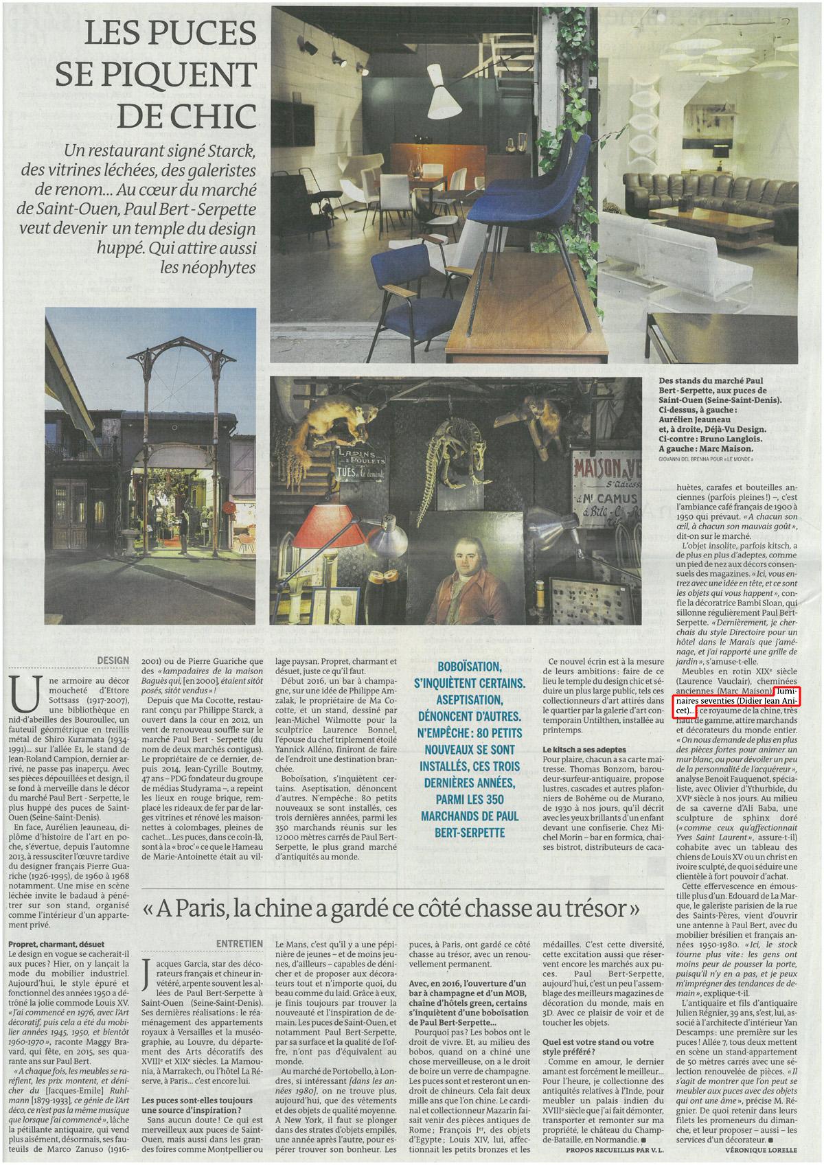 Le Monde, 28 décembre 2015