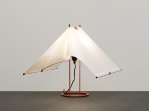 Piero de Martini, Falene table lamp, Arteluce editions