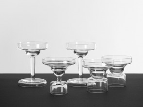 Michele de Lucchi, verres Tevere, éditions Tribu