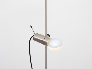 Tito Agnoli, pair of floor lamps model 387, Oluce editions