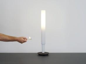 Michele de Lucchi, Candela table lamp, ed. Produzione Privata