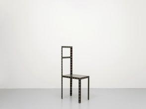 Robert Wilson, chaise sculpture Hamlet, éditions XO exemplaire n°13