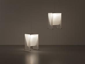 Achille & Pier Giacomo Castiglioni, Teli ceiling lamp model Kd51/R, Flos editions