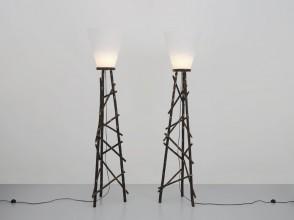Nestor Perkal, Les Rivières floor lamps for Lou Fagotin
