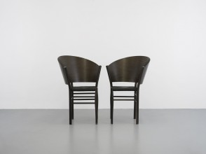 Philippe Starck, chaises Jane Paille ed. Driade coll. Aleph Ubik