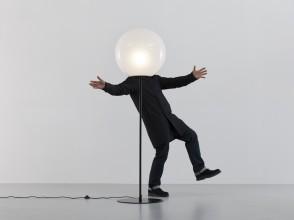 Elio Martinelli, Sfera floor lamp, Martinelli Luce editions