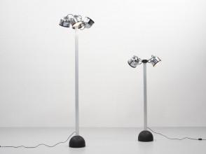 Gae Aulenti et Livio Castiglioni, Sistema Trepiu floor lamps, Stilnovo editions