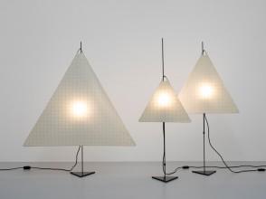 Ingo Maurer, Galgen floor lamps, Design M Munich editions