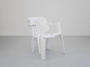 Pierre Castignola, chaise Copytopia n°18, pièce unique signée