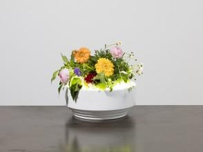 Sergio Asti, lamp vase model Luce e verde, Gabbianelli editions
