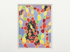 Sonia Delaunay, studio, fabric project, gouache
